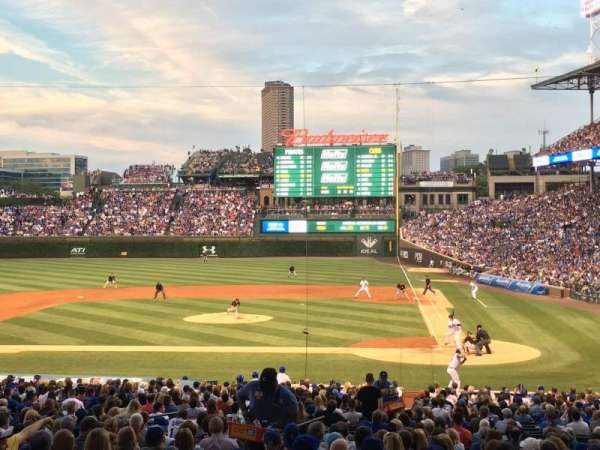 Wrigley Field, section: 216, row: 4, seat: 101