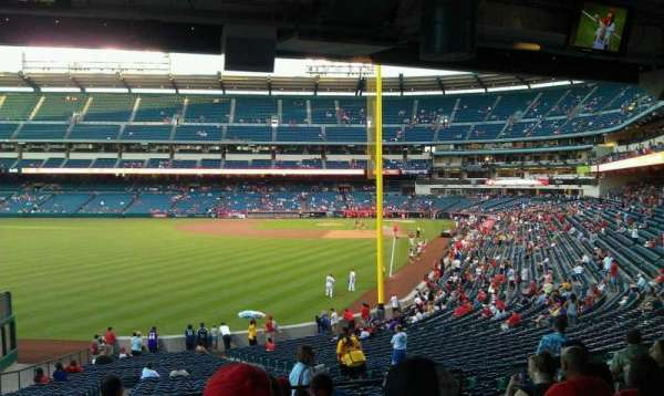 Angel Stadium, section: T201, row: J, seat: 11,12