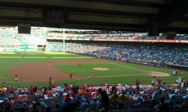 Angel Stadium, section: T210, row: WC, seat: 2,3