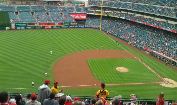 Angel Stadium, section: V512, row: H, seat: 19,20