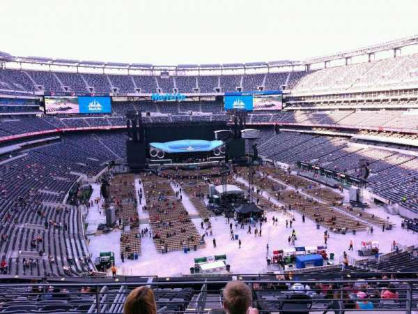 MetLife Stadium, section: 228B, row: 4, seat: 12