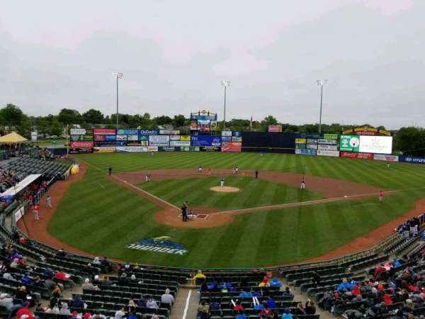 Arm & Hammer Park, section: 8, row: B