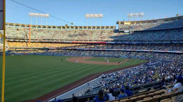 Dodger Stadium, section: 161LG, row: G, seat: 16