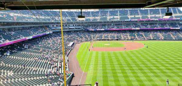 Coors Field, section: Suite 61A, row: WC, seat: 12