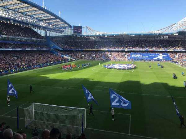 Stamford Bridge, section: Shed End Upper 3, row: 8, seat: 125