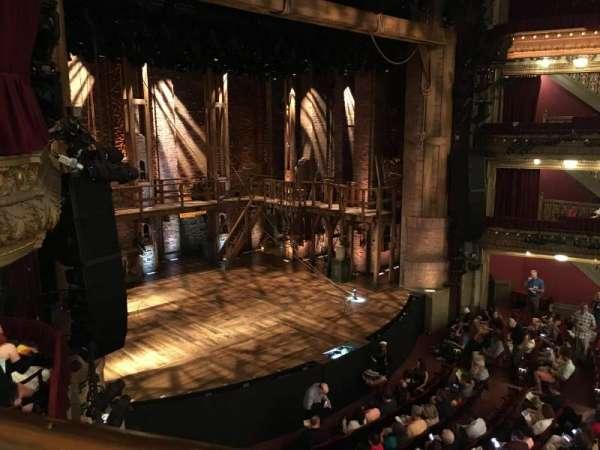 CIBC Theatre, section: Mezzanine L, row: A, seat: 17