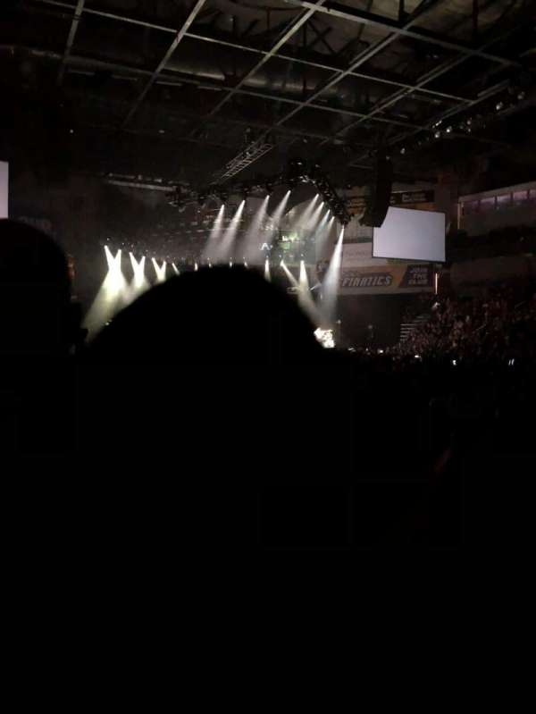 Huntington Center, section: 106, row: B, seat: 2
