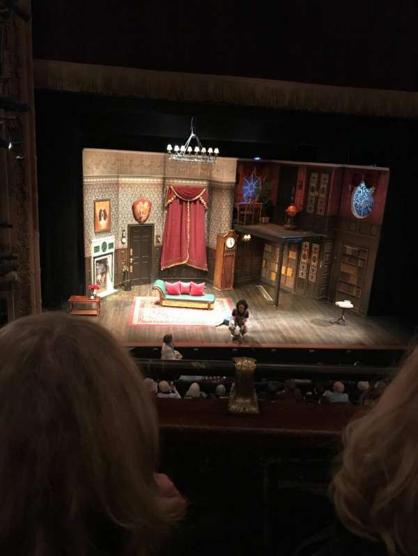 Lyceum Theatre (Broadway), section: Mezzanine L, row: B, seat: 113