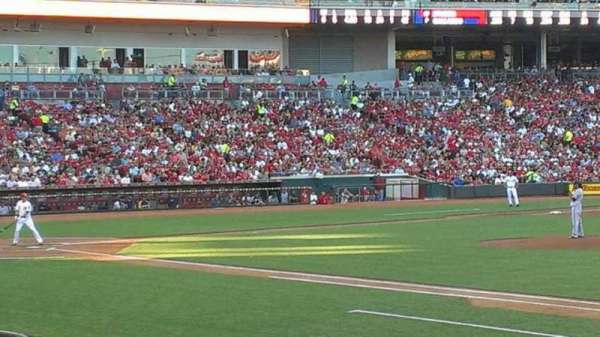 Great American Ball Park, section: 132, row: S, seat: 5
