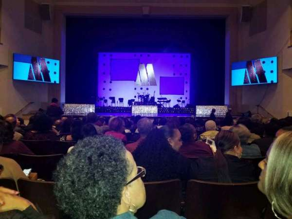 L. Douglas Wilder Performing Arts Center, section: ORCHC, row: N, seat: 110