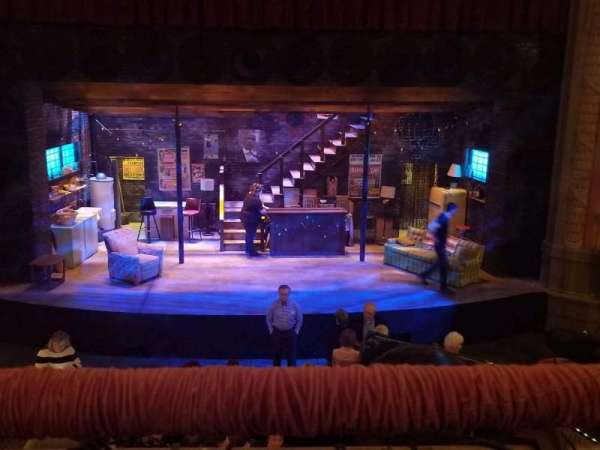 Wells Theatre, section: MEZZ, row: A, seat: 6