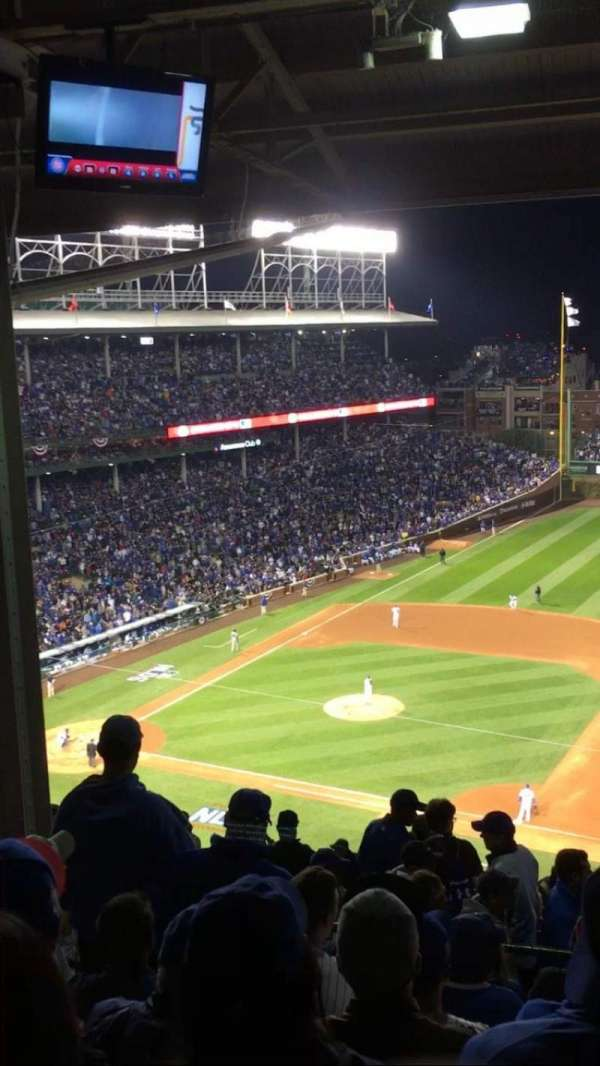 Wrigley Field, section: 426R, row: 7, seat: 5