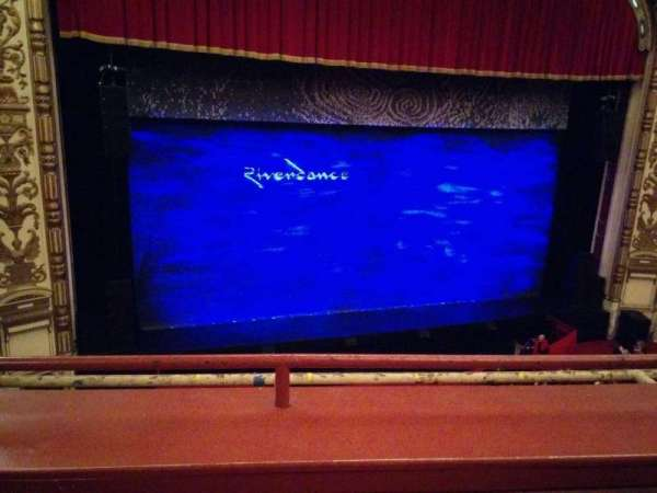 Cadillac Palace Theater, section: Loge LC, row: B, seat: 303