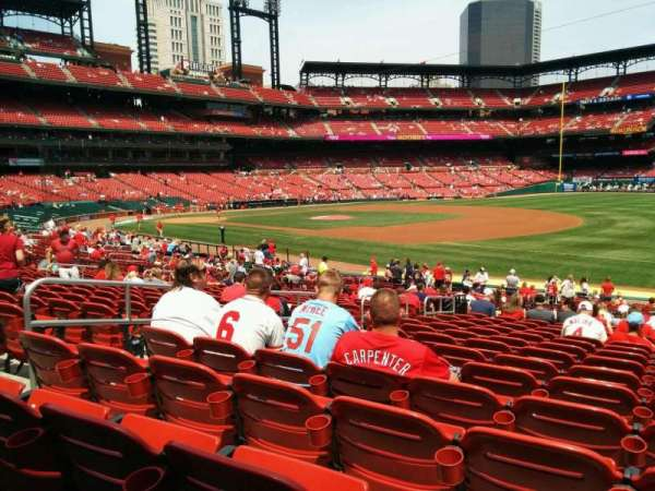 Busch Stadium, section: 138, row: 18, seat: 7