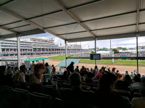 Churchill Downs, section: 110, row: T, seat: 10