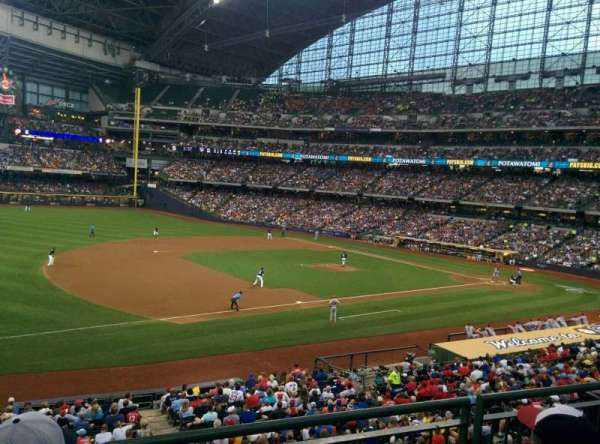 Miller Park, section: LDB227, row: 3, seat: 9
