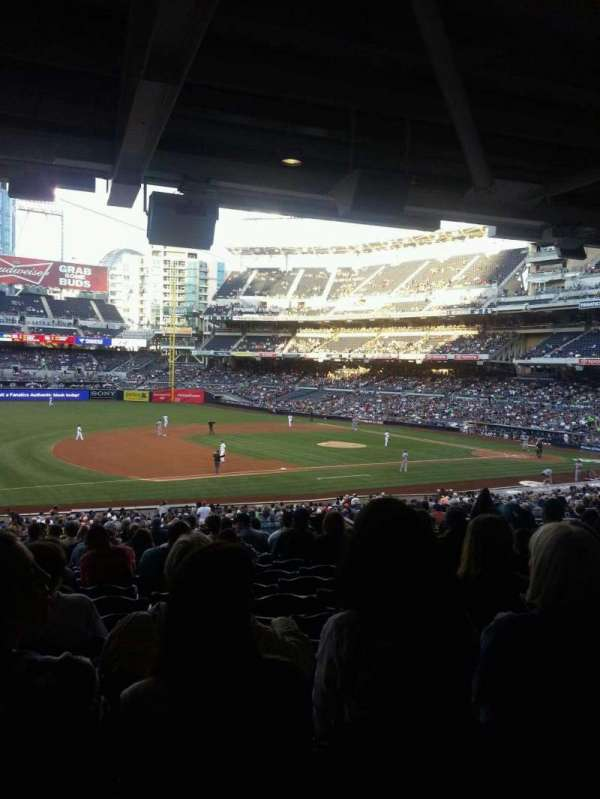 PETCO Park, section: 114, row: 42, seat: 19