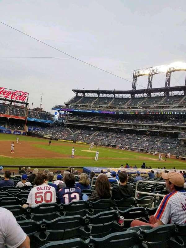 Citi Field, section: 124, row: 16, seat: 7