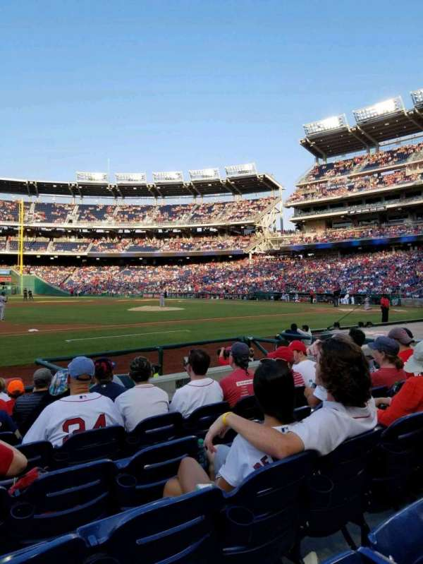 Nationals Park, section: 115, row: J, seat: 13