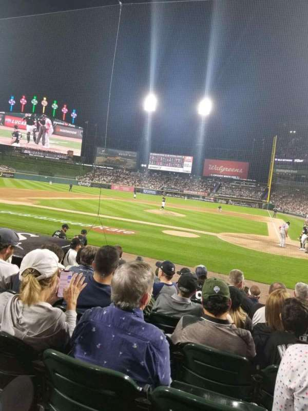Guaranteed Rate Field, section: 136, row: 10, seat: 4