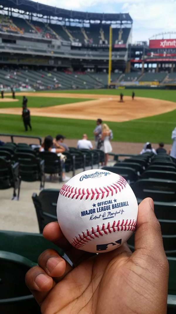 Guaranteed Rate Field, section: 120, row: 13, seat: 6