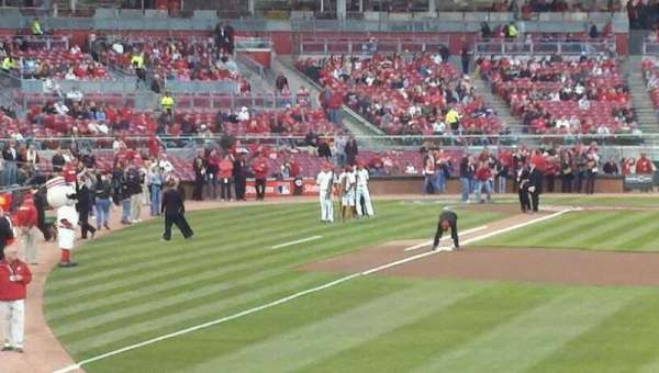 Great American Ball Park, section: 140, row: D, seat: 5