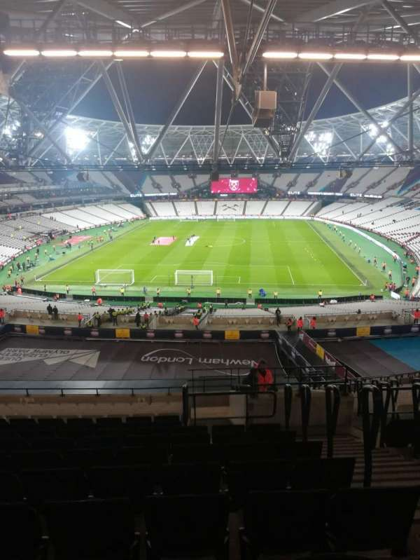 London Stadium, section: 223, row: 63, seat: 842