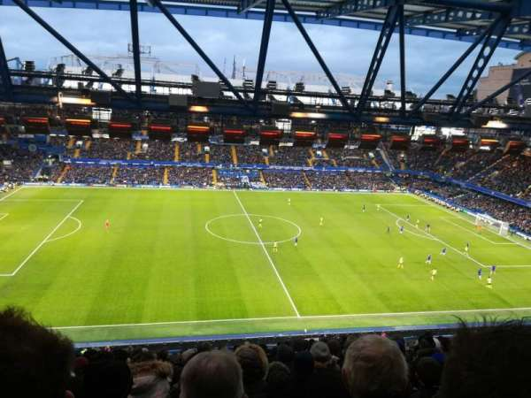 Stamford Bridge, section: West Stand Upper 6, row: 16, seat: 139
