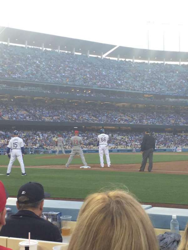 Dodger Stadium, section: 26BL, row: 3, seat: 5