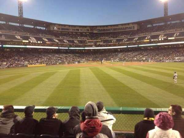 PNC Park, section: 139, row: E, seat: 5