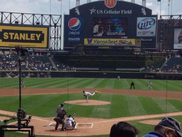 Guaranteed Rate Field, section: 132, row: 17, seat: 1