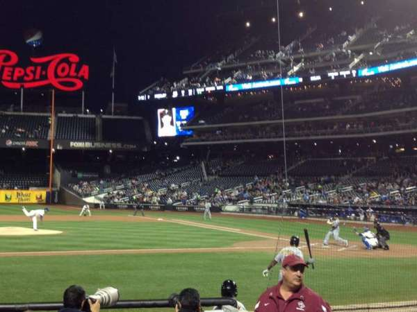 Citi Field, section: 121, row: 5, seat: 5