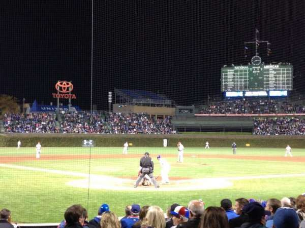 Wrigley Field, section: 22, row: 10, seat: 1