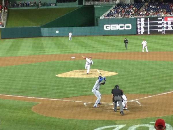 Nationals Park, section: 122