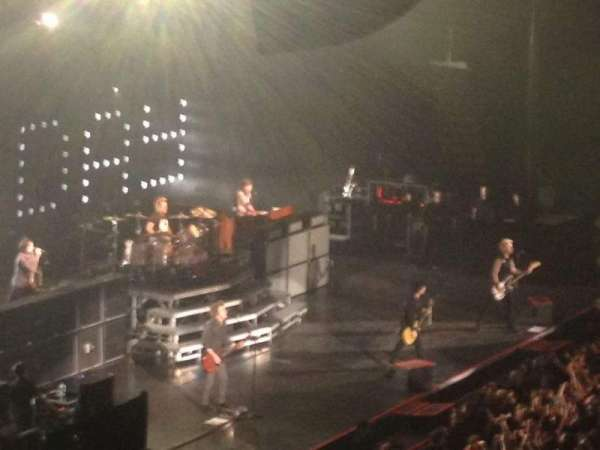 Allstate Arena, section: 203, row: D, seat: 8