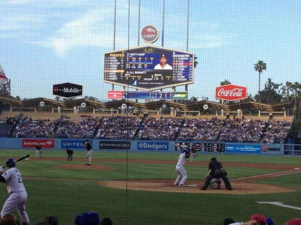 Dodger Stadium, section: 5FD, row: B, seat: 5