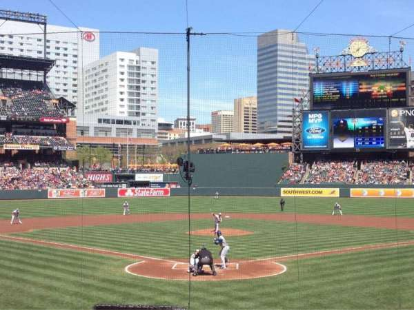 Oriole Park at Camden Yards, section: 36, row: 18, seat: 5