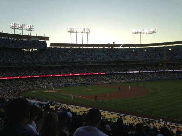 Dodger Stadium, section: 156LG, row: K, seat: 2