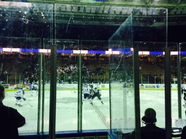 Bon Secours Wellness Arena, section: 113, row: DD, seat: 3