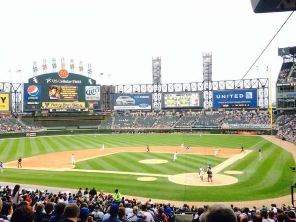 Guaranteed Rate Field, section: 134, row: 37, seat: 16