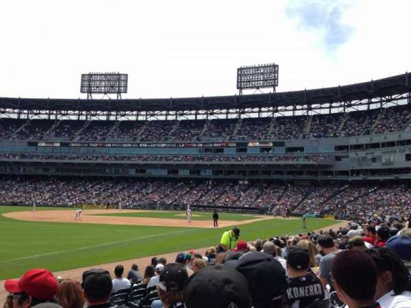 Guaranteed Rate Field, section: 149, row: 9, seat: 8
