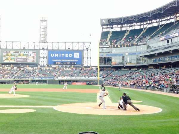 Guaranteed Rate Field, section: 136, row: 7, seat: 2