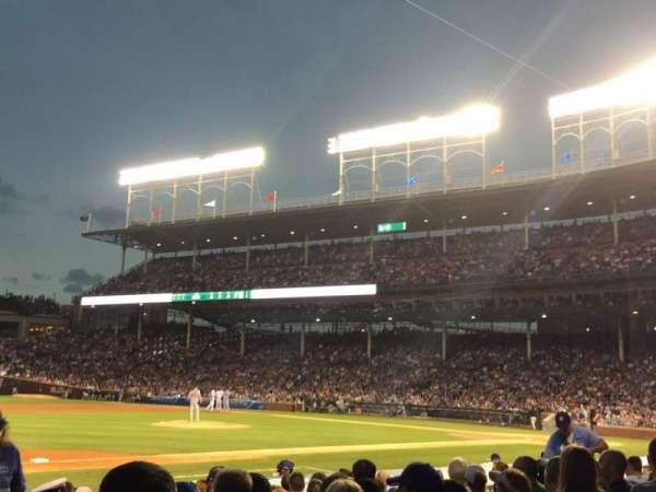 Wrigley Field, section: 11, row: 10, seat: 103