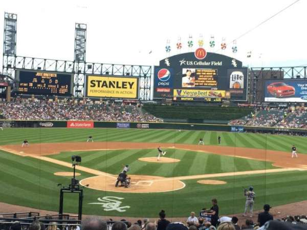Guaranteed Rate Field, section: 131, row: 26, seat: 11