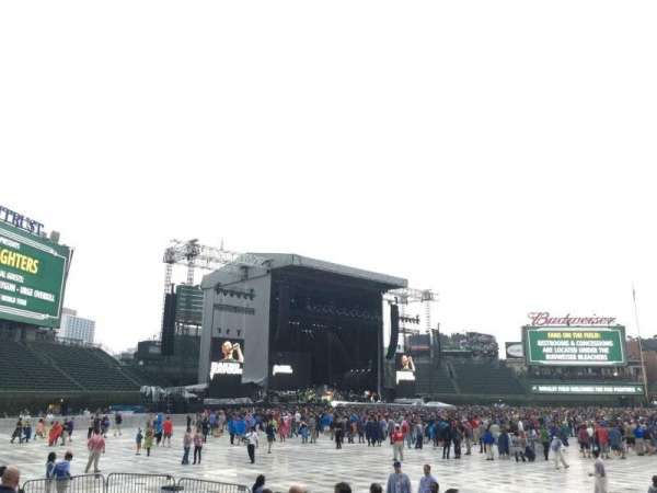 Wrigley Field, section: 108, row: 1, seat: 1