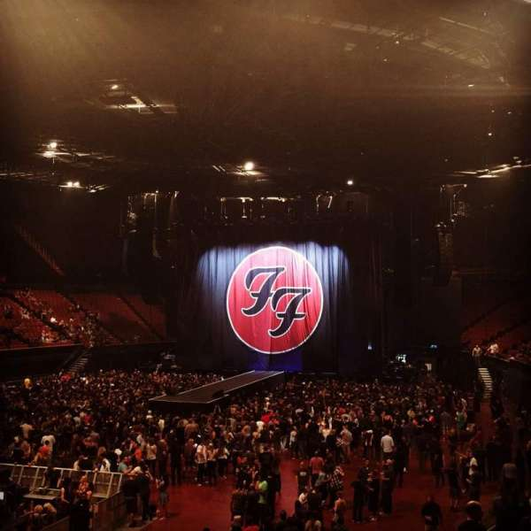 The Forum, section: 103, row: 12, seat: 9