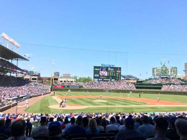 Wrigley Field, section: 121, row: 13, seat: 2