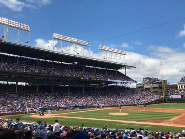 Wrigley Field, section: 125, row: 13, seat: 18
