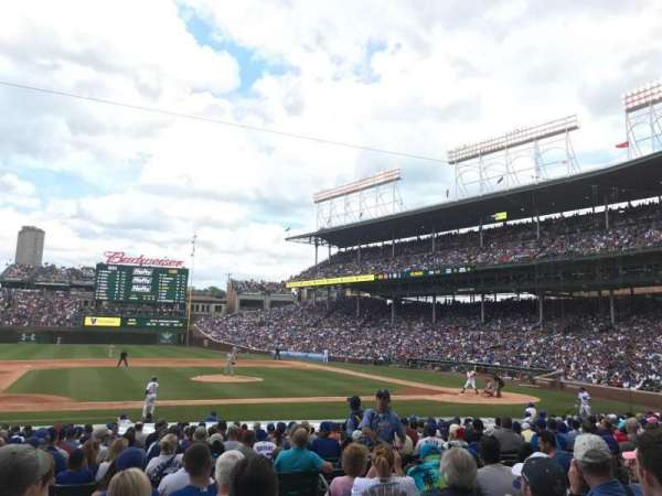 Wrigley Field, section: 114, row: 7, seat: 102