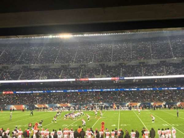 Soldier Field, section: 108, row: 16, seat: 19